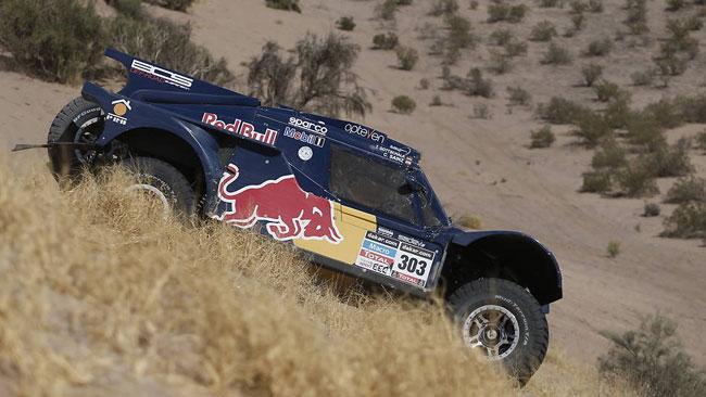 Dakar, Tappa 7, Auto: Sainz mette in fila le Mini