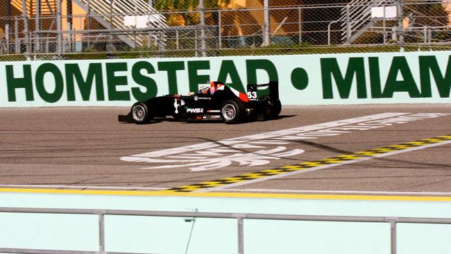 Florida Winter Series: Latifi brilla nei primi test