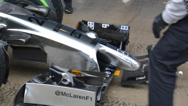 La McLaren ha un nuovo bulbo sul muso