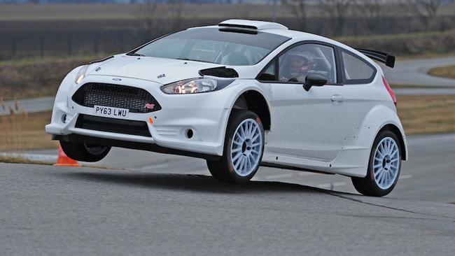 La nuova Fiesta R5 cambia ruolo a Beppo Harrach