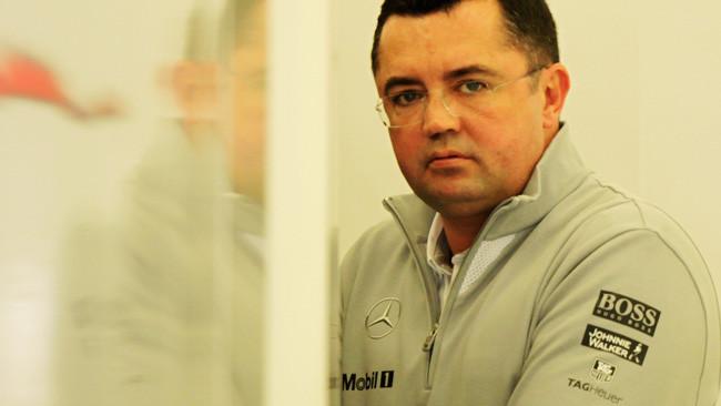 Eric Boullier al debutto con la McLaren