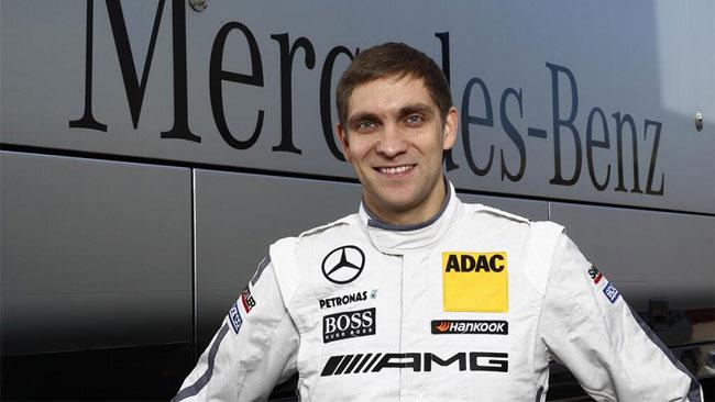 Ufficiale: Petrov debutta nel DTM con la Mercedes
