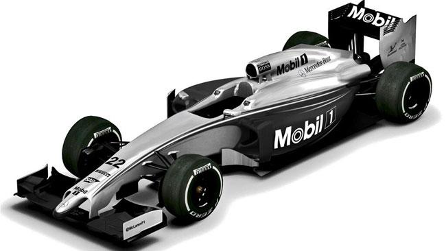 Ecco la livrea della McLaren per il Gp d'Australia