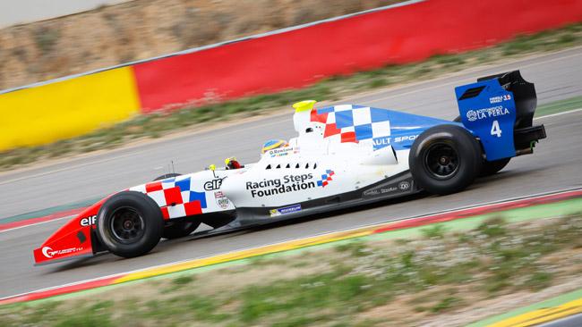 Jerez, Day 2: Rowland guida la doppietta Fortec
