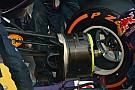 Polysil nei cerchi anteriori della Red Bull Racing