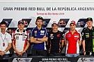 Rossi e Dovi lanciano la sfida a Marquez in conferenza