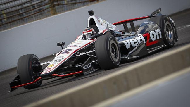 Indy 500, Libere 1: Power guida la tripletta Penske