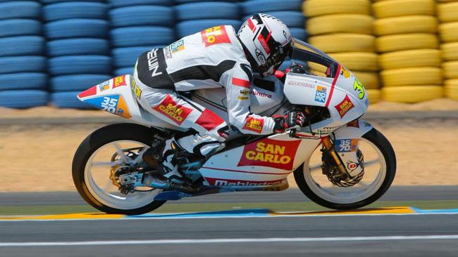Il San Carlo Team Italia in decima fila a Le Mans