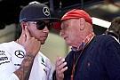Lauda critica l'atteggiamento di Hamilton dopo il Gp