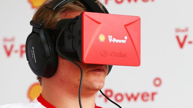 Raikkonen alla scoperta 3D del cuore Ferrari