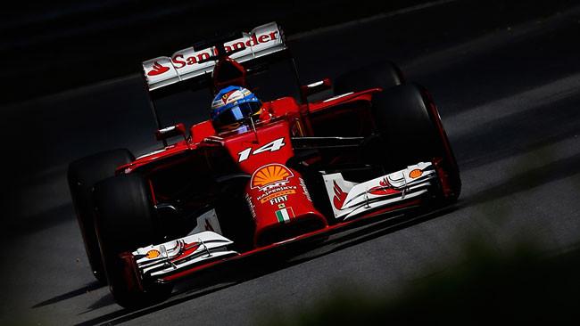 Alonso non si sbilancia sulle novità della F14 T