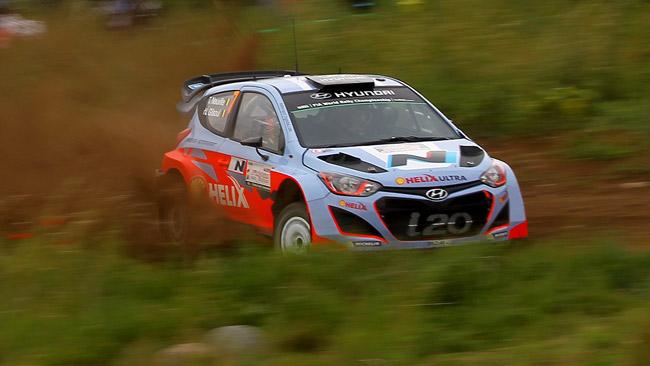La Hyundai inizierà il 2015 con la i20 WRC 2014