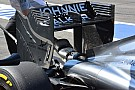 McLaren: mini-flap triangolari sulle paratie dell'ala