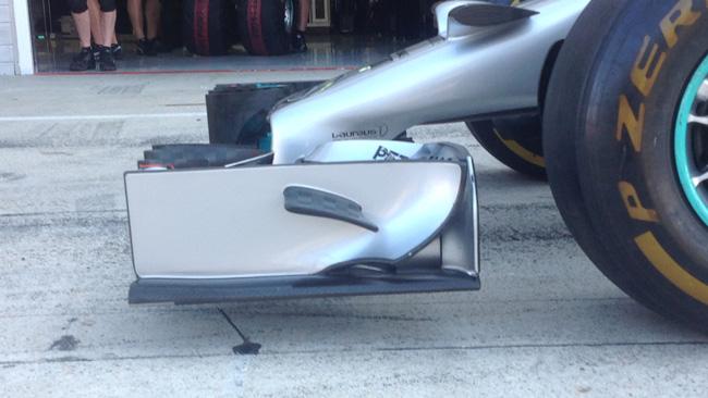 Mercedes: è cresciuta l'altezza da terra di 13 mm