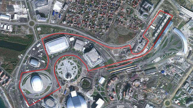 Sochi promossa: Whiting omologa il circuito