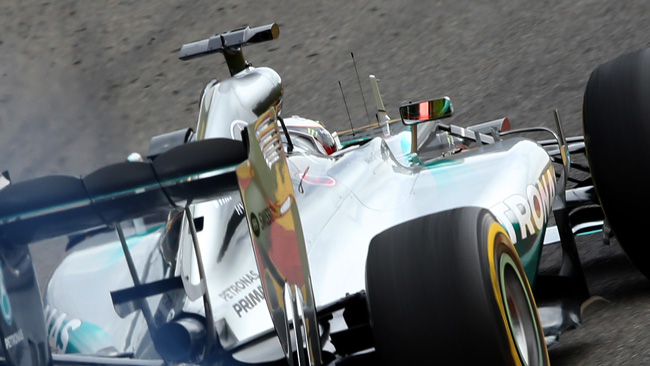 Spa, Q2: Hamilton, le Mercedes e Alonso