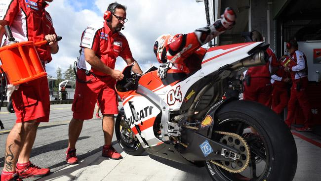 Tanto lavoro in Ducati: ad Aragon arriva la GP14.5