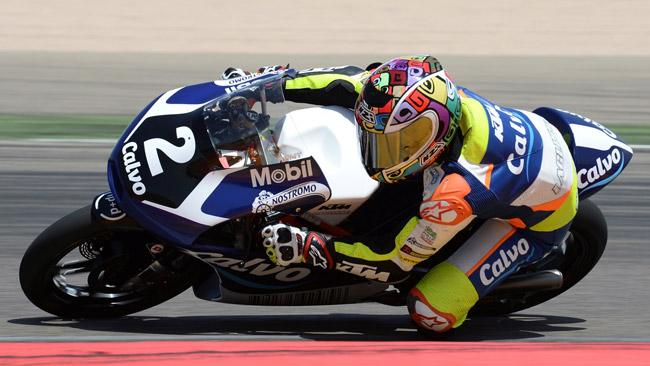 Remy Gardner debutta nel Mondiale Moto3 a Misano