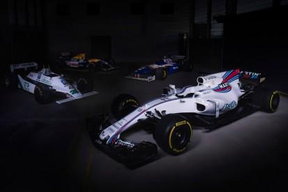 Formel-1-Liveticker: Williams setzt beim FW43B auf komplett neues Design