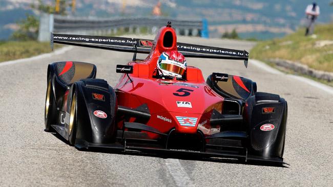 FIA Master Hill-Climb: la Wolf GB08F1 sfiora la vittoria