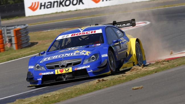 Paffett ha rinnovato con la Mercedes per il 2015