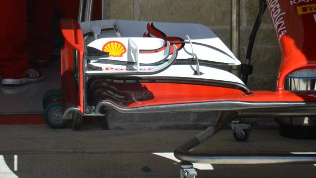Ferrari: solo nelle libere gli upper flap allungati