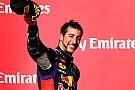 Ricciardo sogna un'altra vittoria prima di fine anno