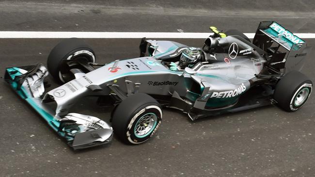 Interlagos, Libere 1: Rosberg, un tempo da pole 2012!