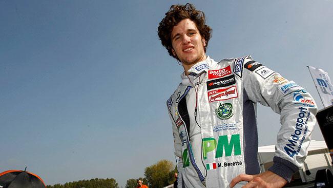 Michele Beretta ai test di Barcellona con Mucke