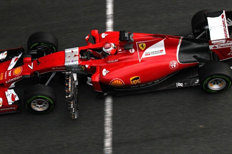 Ferrari: Raikkonen fa delle prove aerodinamiche