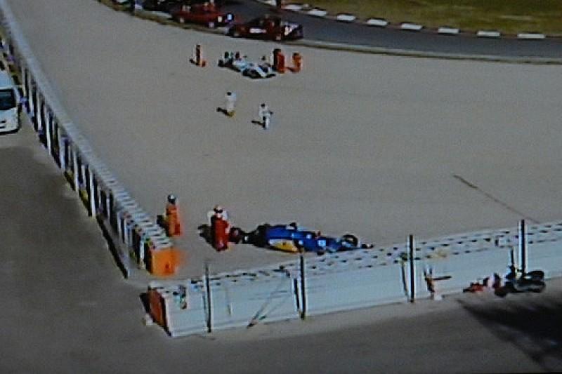 Incidente tra Felipe Nasr e Susie Wolff alla curva 5