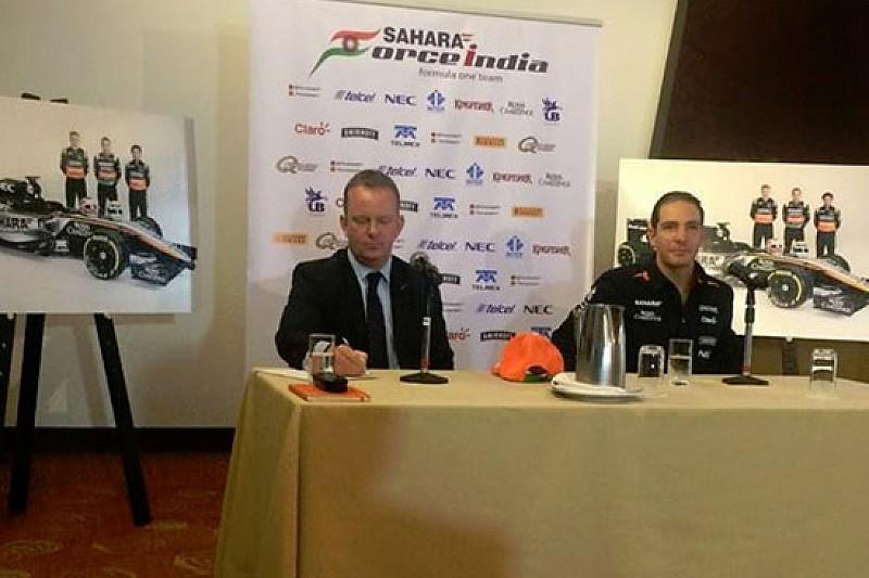 Steven Goldstein development driver della Force India