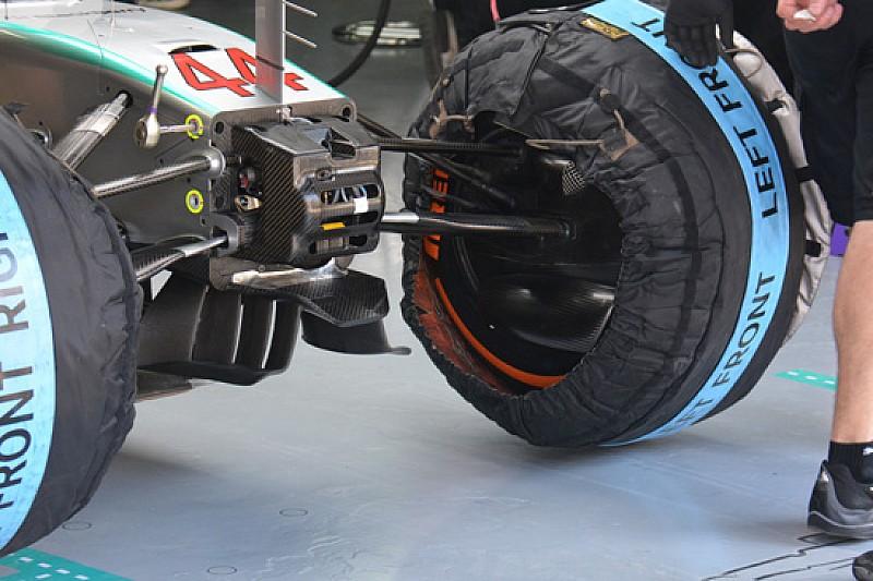 Mercedes: un telaietto per sostenere i turning vanes