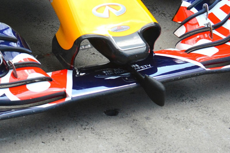 Red Bull: un sensore sul muso per raccogliere dei dati
