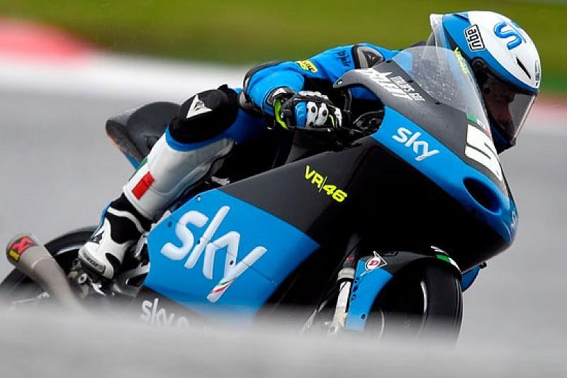 Lavori in corso per lo Sky Racing Team VR46