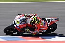 Iannone says shoulder still causing pain