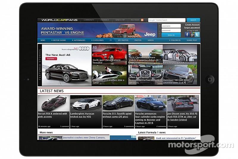 Motorsport LLC adhiere WorldCarFans.com a su portafolio de negocios