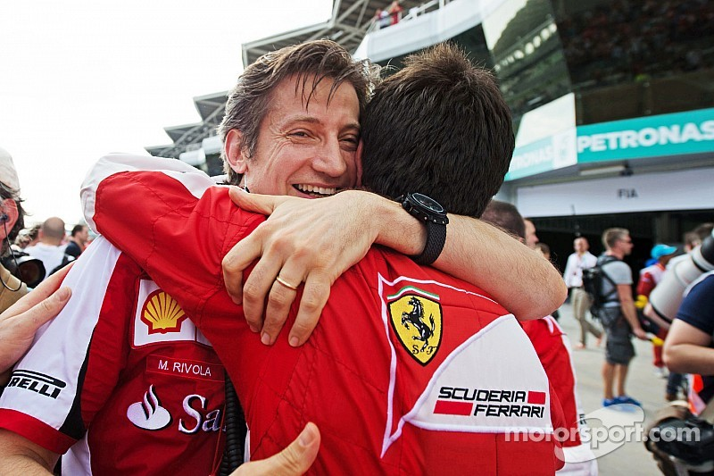Ривола вернулся к работе Ferrari