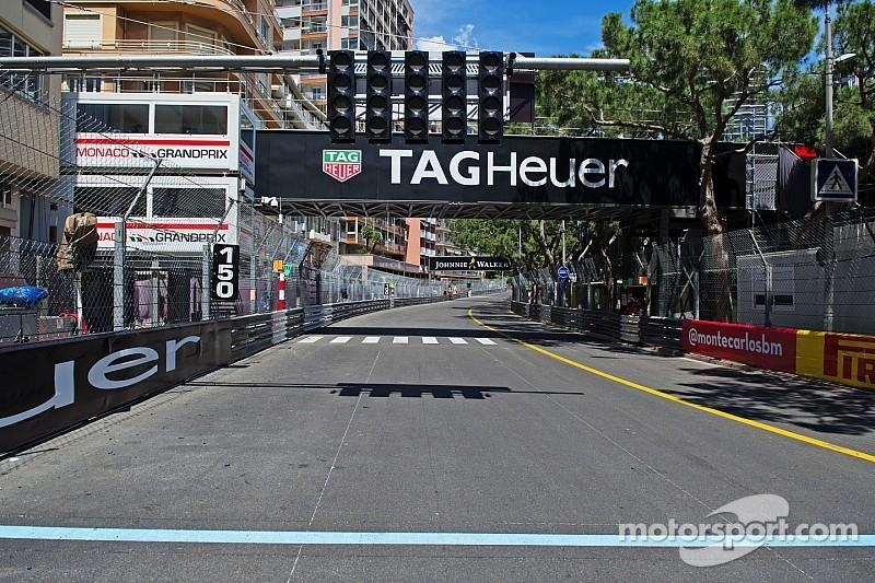 GP de Monaco - La grille de départ