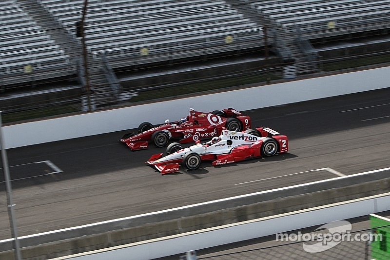 Penske and Ganassi control Indy 500 at halfway point