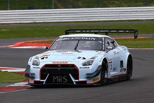 Stunning run for MRS GT Racing with top 5 in Blancpain at Silverstone