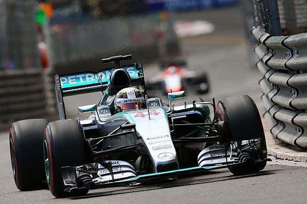 Clipe do GP da Mônaco mostra pedido de Hamilton para parar em SC