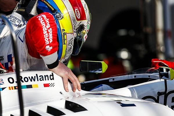 Роуленд выиграл вторую гонку