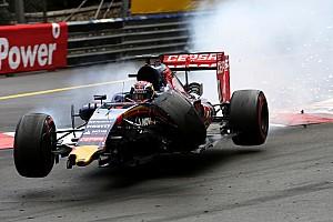 Formule 1 Actualités Verstappen a connu le plus gros accident de sa carrière à Monaco