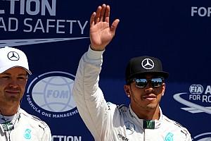 F1 Reporte de calificación Hamilton dice que fue especial volver a ganar la pole