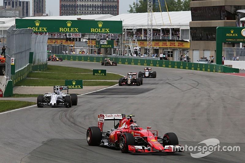 Räikkönen decepcionado al perder el podio