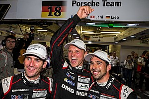 Le Mans Qualifying report Porsche sweeps front row for 24 Hours of Le Mans