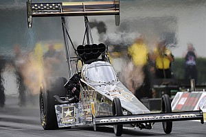 NHRA Qualifying report Johnson, Schumacher and McGaha top qualifying at New England