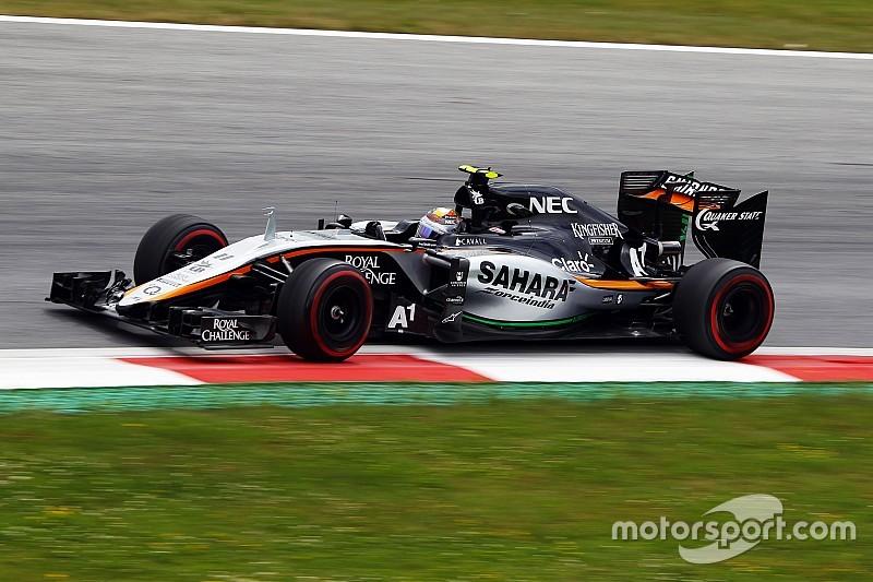 Pérez, afuera en la Q1 en Austria