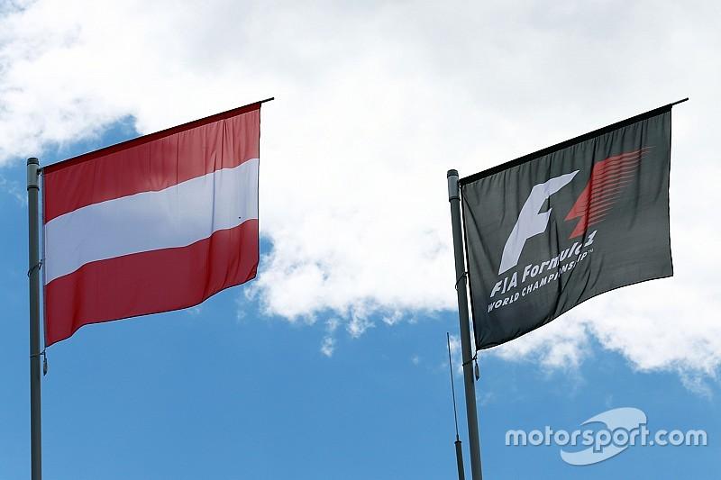 Гран При Австрии: стартовая решётка
